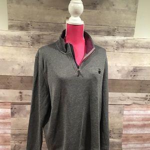 Ted Baker London 1/4 Zip Sweater